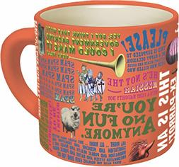 Monty Python Quotes Coffee Mug - Quotes from The Flying Circ