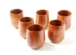 Moyishi Top-Grade Natural Solid Wood Wooden Tea Cup Wine Mug