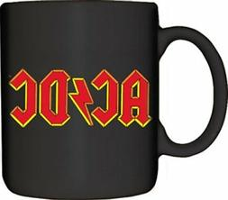 Mugs AC/DC Logo Designed Mug, 12-Ounce, Black