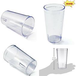 New Star Foodservice 46380 Plastic Restaurant Cup Pebbled Tu