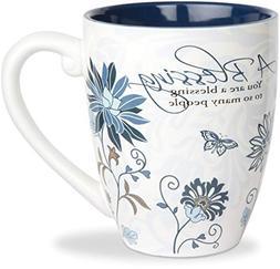 Pavilion Gift Company 66338 Blessing Ceramic Mug, 17-Ounce,