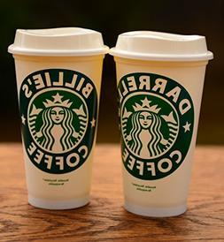 Personalized Starbucks. Choices: Reusable Travel 16 oz, 16 o