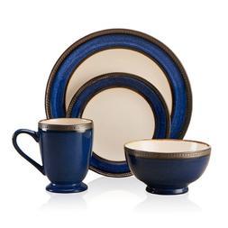 Pfaltzgraff Everyday Catalina Cobalt 16-Piece Dinnerware Set