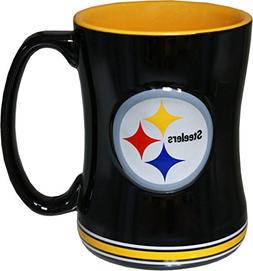 Boelter Pittsburgh Steelers 15 Ounce Sculpted Logo Relief Co