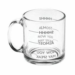 SIGNALS Shhh, Almost, Now You May Speak - Funny Glass Coffee