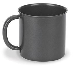 Stansport Steel Mug, 14-Ounce, Black Granite
