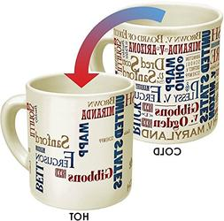 Supreme Court Heat Changing Mug - Add Coffee or Tea to Revea
