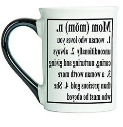 Christmas Mom Coffee Mug Gifts Best Mom Ever Ceramic Tea Cup