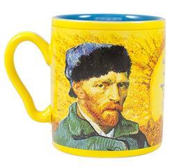 Van Gogh Disappearing Ear Mug - Add Coffee or Tea and Van Go