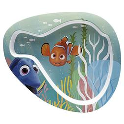 Zak Designs Finding Dory 8-inch Plastic Plate for Kids, Nemo