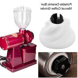 Adjustable Ceramic Burr Manual Coffee Grinder Home Office Ha