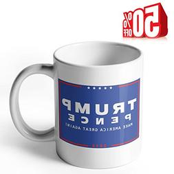 Sweese Aha Mug - Donald Trump Pence Make America Great Again