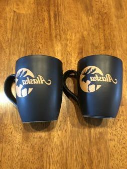 Alaska moose coffee mug set of 2