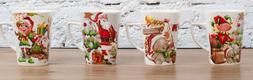 All For You X971 New Bone China Mug Christmas Gift Box-Set o