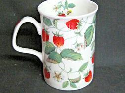 ALPINE STRAWBERRY free shipping FINE  BONE CHINA mug Roy Kir