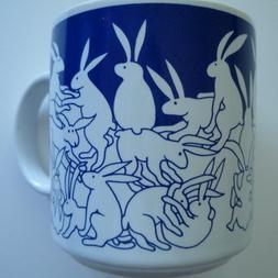 Animates 11 oz. Nitetime Rabbits Mug, Blue, Coffee Mug, Blue