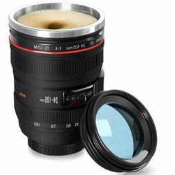 Anti-Slip Camera Lens 18-300mm Self-Stirring Coffee Thermal