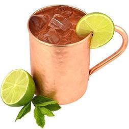 The Kicking Mule Authentic Handcrafted Moscow Mules Copper M