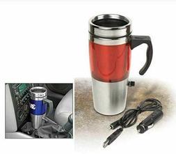 Auto Heated Travel Coffee Tea Mug Cup 12V and USB.