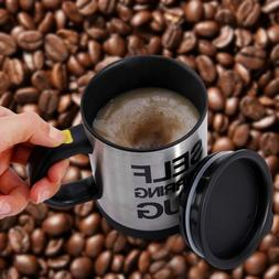 automatic self stirring coffee mixing cup mug