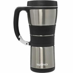 AutoSeal 16 oz Stainless Steel Double Wall Vacuum Insulated