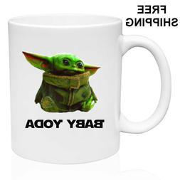 Baby Yoda, Star Wars, Birthday, Christmas Gift, Black Mug 11