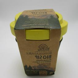 Bamboo BioSip 12 oz Travel Cup Lid EcoSouLife Biodegradable