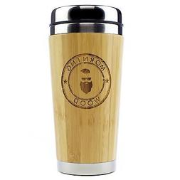 Morning Wood Bamboo Travel Mug