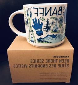 Banff, Canada Been There Starbucks Coffee Mug NIB 14oz
