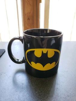 Batman Coffee Mug Ceramic with Bat Logo DC Comics Kitchen Co
