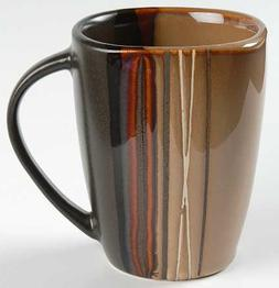 Home Trends Bazaar-Brown Mug, Fine China Dinnerware