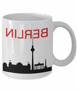 Berlin Travel Mug - Funny Tea Hot Cocoa Coffee Cup - Novelty