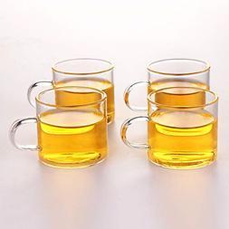 Best Glass Tea Cup Coffee Mug Clear Borosilicate Small Glass