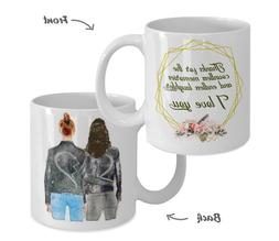BFF Coffee Mugs for Women Best Friend Friendship Sister Cup