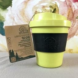 EcoSouLife Biodegradable BioSip 12oz Travel Cup Lid Bamboo P