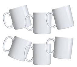 Oxford Biona Mugs , Pure White