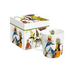 Bird Entourage Mug - Vicki Sawyer Birds Bone China Coffee Cu