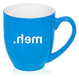 5d7c2beeb32 16 oz Large Bistro Mug Ceramic Coffee Tea Glass Cup Meh Geek