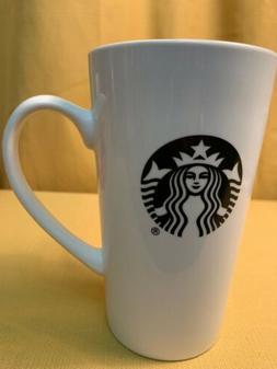 Starbucks Black Siren 14 oz White Ceramic Travel Coffee Mug