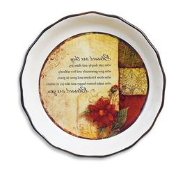 Blessed Are You Pie Plate