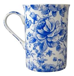 Heath Mccabe Blue Rose Chatsworth English Chintz Mug Fine Bo