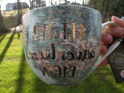 Portobello By Design Bone China Coffee Mug World Map Let Adv