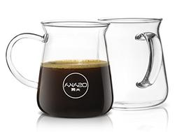 Osaka Borosilicate Glass Coffee Mug – Thermal Shock Proof,