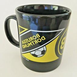 Borussia Dortmund BVB 09 Coffee, Tea Black Mug / Cup Staffor