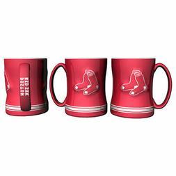 Boston Red Sox Boelter MLB Red Relief Coffee Mug 14oz FREE S