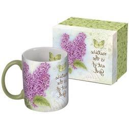 Botanical Inspiration Lilac Coffee Mug, Coffee & Tea by Lang