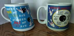 Papel Bowling Coffee Mug novelty reward gift gag trophy Vint