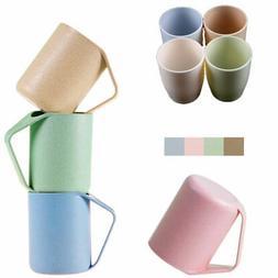 Break-resistant Creative Coffee Mug Cup Wheat Straw / Food G