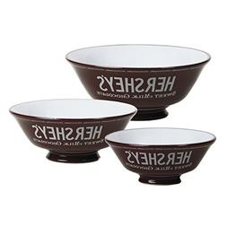 """Creative Co-Op 14.5""""L Ceramic 3 Compartment White Bowl with"""
