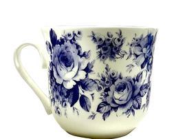 Breakfast Tea Cup Blue Chintz Fine Bone China England Tablew
